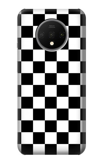 Printed Checkerboard Chess Board OnePlus 7T Case