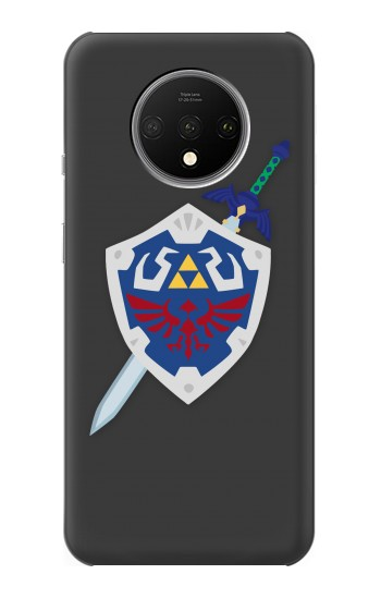 Printed Skyward Sword Hylian Shield Zelda OnePlus 7T Case