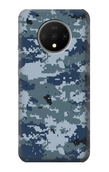 Printed Navy Camo Camouflage Graphic OnePlus 7T Case