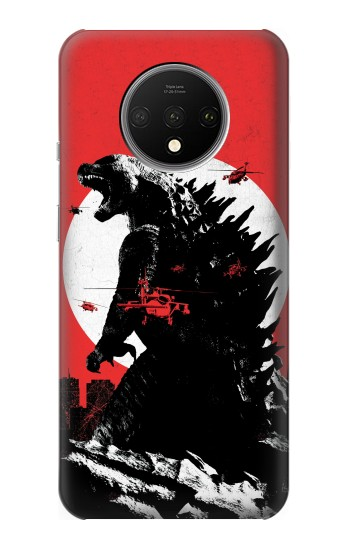 Printed Godzilla Japan Flag OnePlus 7T Case