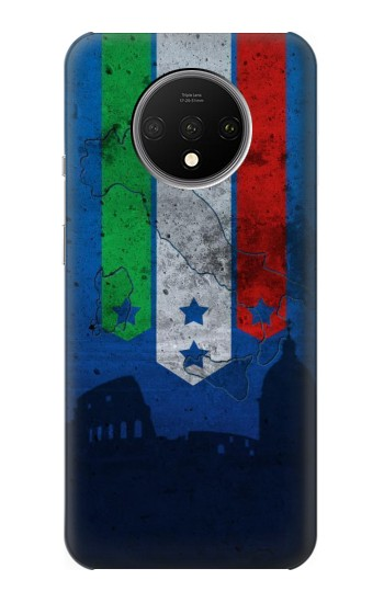 Printed Italy Football Flag OnePlus 7T Case