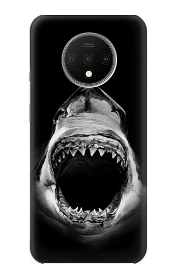 Printed Great White Shark OnePlus 7T Case