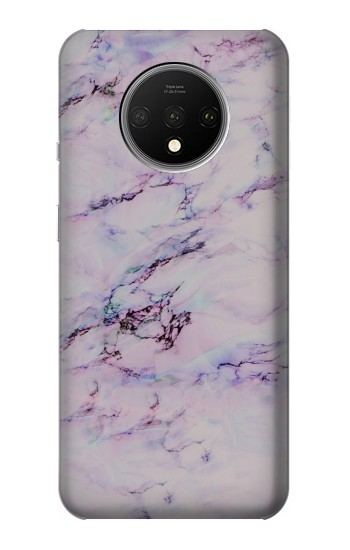 Printed Seamless Pink Marble OnePlus 7T Case
