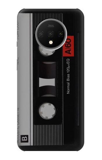 Printed Vintage Cassette Tape OnePlus 7T Case