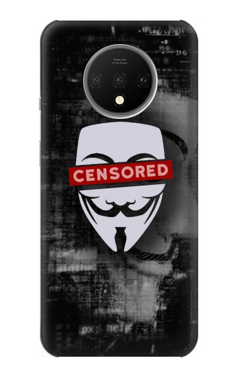 Printed Anonymous Censored OnePlus 7T Case