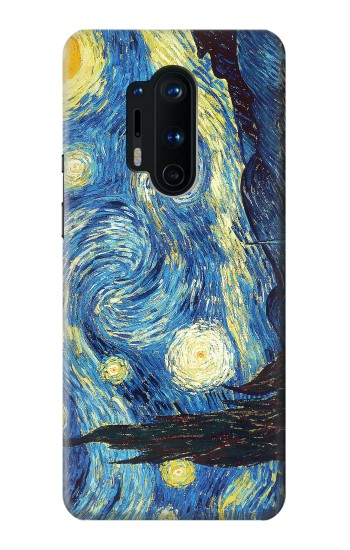 Printed Van Gogh Starry Nights OnePlus 8 Pro Case