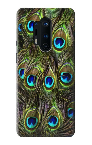 Printed Peacock Feather OnePlus 8 Pro Case