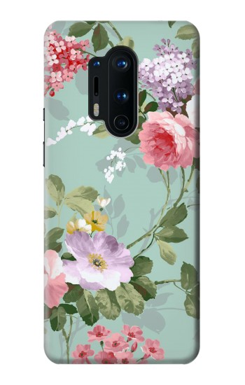 Printed Flower Floral Art Painting OnePlus 8 Pro Case