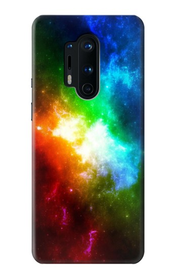 Printed Colorful Rainbow Space Galaxy OnePlus 8 Pro Case