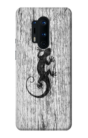 Printed Gecko Wood Graphics Printed OnePlus 8 Pro Case