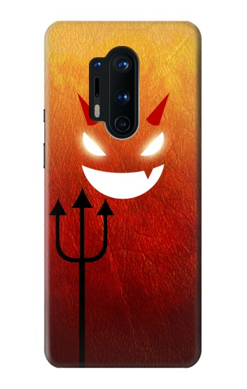 Printed Red Devil OnePlus 8 Pro Case