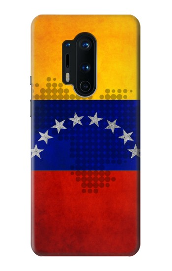 Printed Venezuela Map Flag OnePlus 8 Pro Case