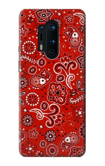Printed Red Bandana OnePlus 8 Pro Case