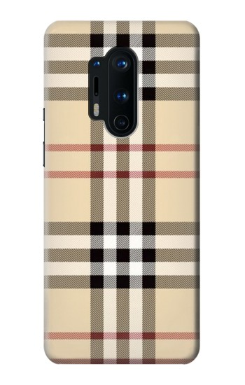 Printed Tartan Plaid Yellow Pattern OnePlus 8 Pro Case