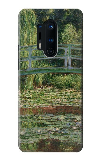 Printed Claude Monet Footbridge and Water Lily Pool OnePlus 8 Pro Case