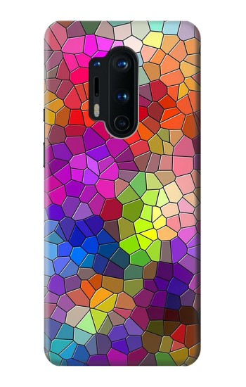 Printed Colorful Brick Mosaics OnePlus 8 Pro Case