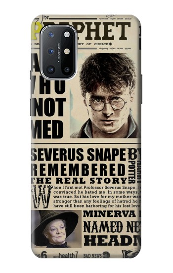 Printed Harry Potter Daily Prophet OnePlus 8T Case