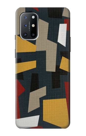 Printed Abstract Fabric Texture OnePlus 8T Case