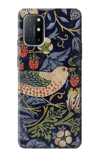 Printed William Morris Strawberry Thief Fabric OnePlus 8T Case