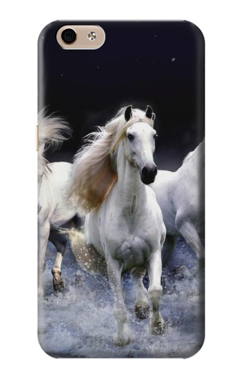 Printed White Horse alcatel Idol 3 (5.5) Case