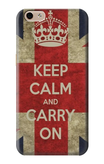 Printed Keep Calm and Carry On alcatel Idol 3 (5.5) Case