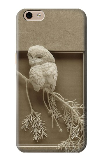 Printed Paper Sculpture Owl alcatel Idol 3 (5.5) Case