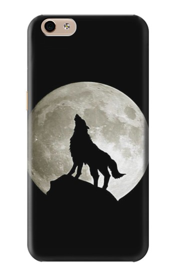 Printed Wolf Howling at The Moon alcatel Idol 3 (5.5) Case