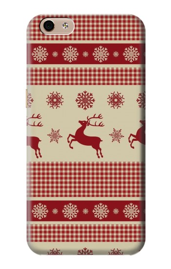 Printed Christmas Snow Reindeers alcatel Idol 3 (5.5) Case