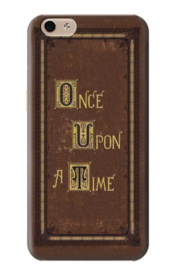 Printed Once Upon a Time Book Cover alcatel Idol 3 (5.5) Case