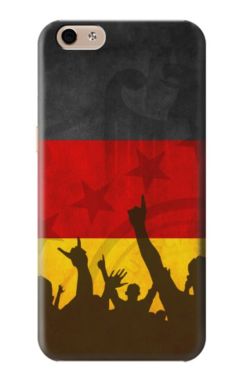 Printed Germany Football Flag alcatel Idol 3 (5.5) Case