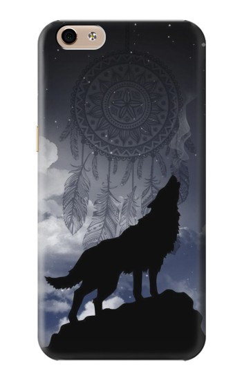 Printed Dream Catcher Wolf Howling alcatel Idol 3 (5.5) Case