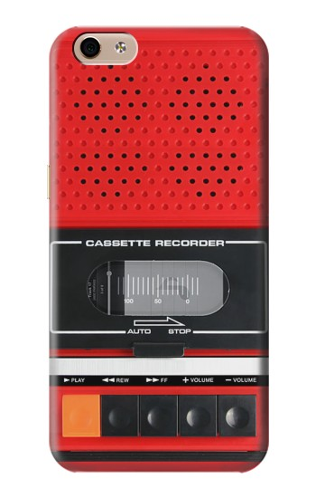 Printed Red Cassette Recorder Graphic alcatel Idol 3 (5.5) Case
