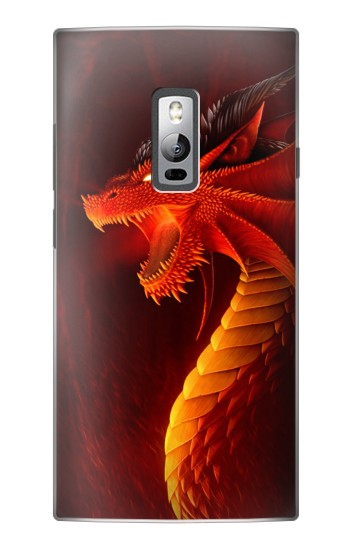 Printed Red Dragon OnePlus 2 Case