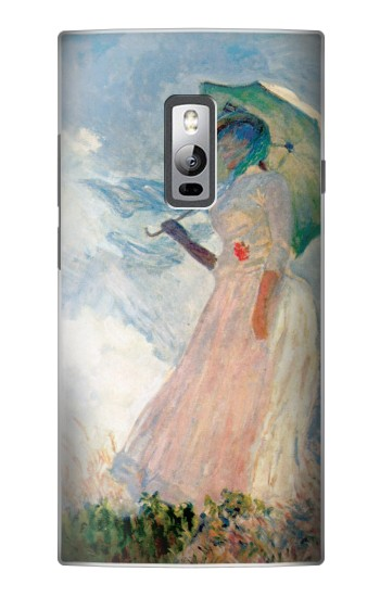 Printed Claude Monet Woman with a Parasol OnePlus 2 Case