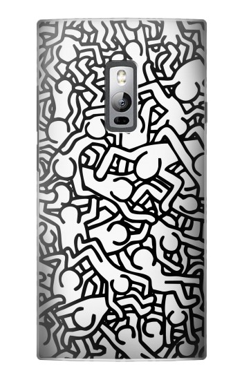 Printed Keith Haring Art OnePlus 2 Case