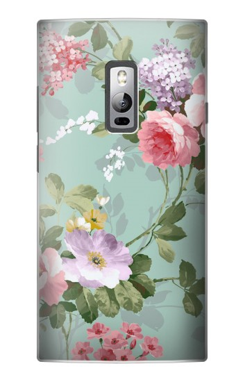Printed Flower Floral Art Painting OnePlus 2 Case
