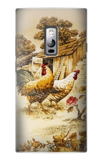 Printed French Country Chicken OnePlus 2 Case