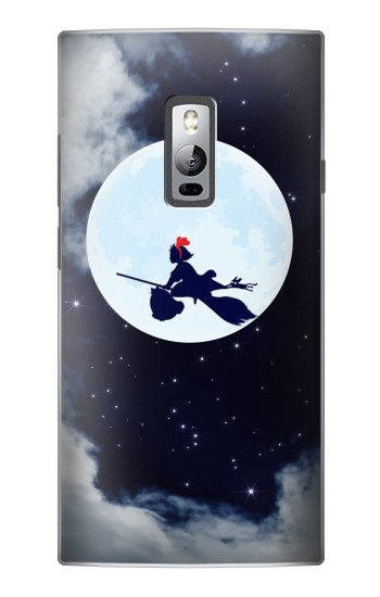 Printed Kiki Delivery Service Little Witch Kiki Moon OnePlus 2 Case