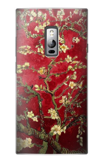 Printed Red Blossoming Almond Tree Van Gogh OnePlus 2 Case