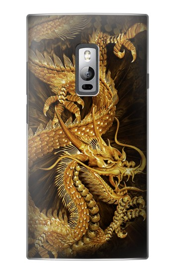 Printed Chinese Gold Dragon Printed OnePlus 2 Case
