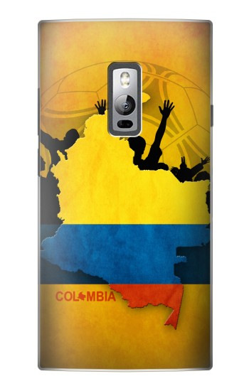 Printed Colombia Football Flag OnePlus 2 Case
