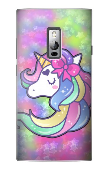 Printed Pastel Unicorn OnePlus 2 Case