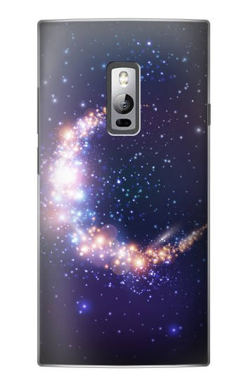 Printed Crescent Moon Galaxy OnePlus 2 Case