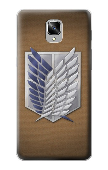 Printed Recon Troops Attack on Titan OnePlus 3 Case