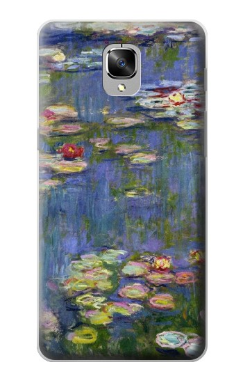 Printed Claude Monet Water Lilies OnePlus 3 Case