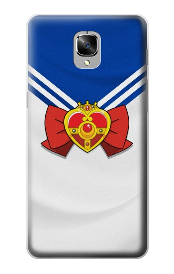 Printed Sailor Moon Brooch and Bow OnePlus 3 Case