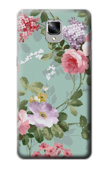 Printed Flower Floral Art Painting OnePlus 3 Case