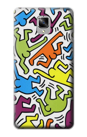 Printed Keith Haring OnePlus 3 Case