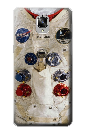 Printed Neil Armstrong White Astronaut Spacesuit OnePlus 3 Case