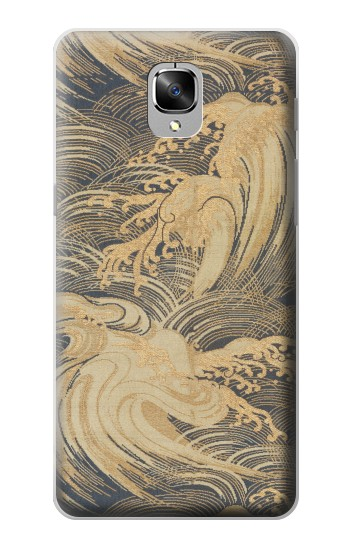 Printed Obi With Stylized Waves OnePlus 3 Case
